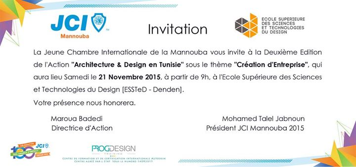 Journée Architecture & Design en Tunisie