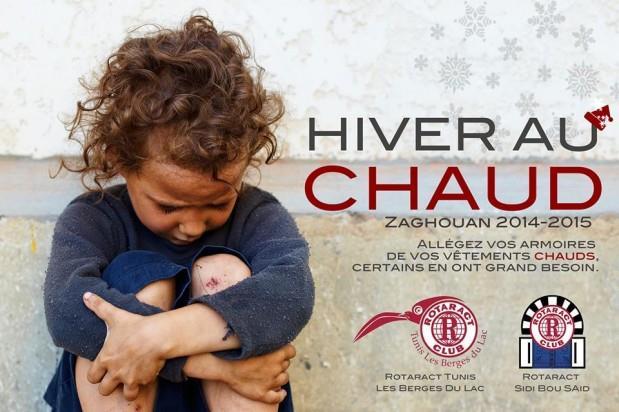 Action Hiver au Chaud à Zaghouan