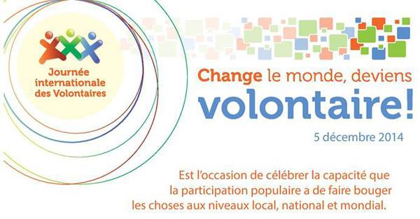 Journée Internationale des Volontaires 2014