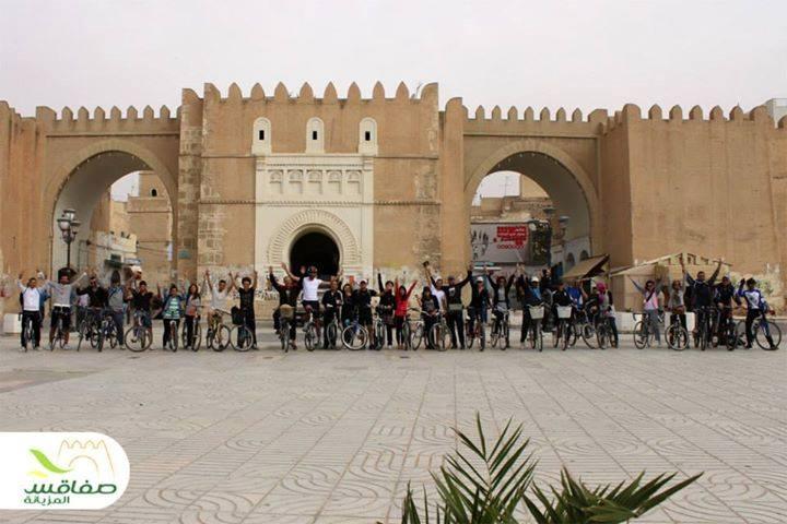 Tour de Sfax en vélo